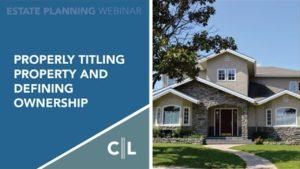 Community Property VS Separate Property? - Estate Problems