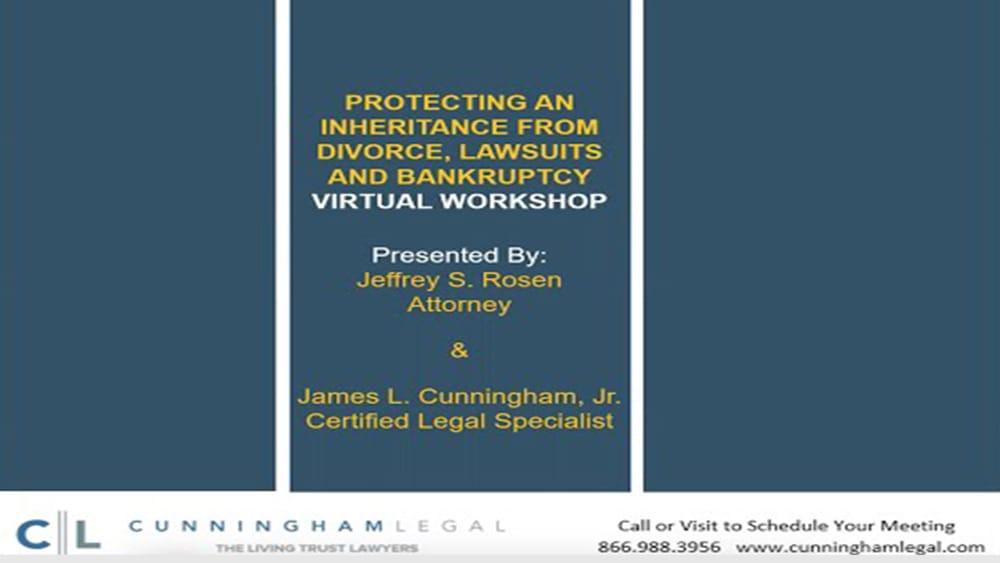 Protecting an Inheritance- Virtual Workshop